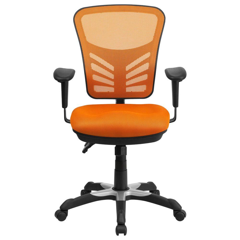 Flash Furniture Executive Swivel Chair in Orange, , large