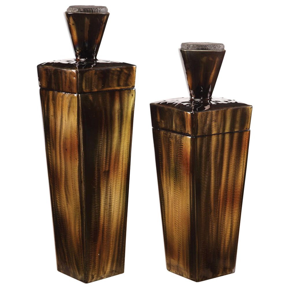 Uttermost Lisa Container (Set of 2), , large