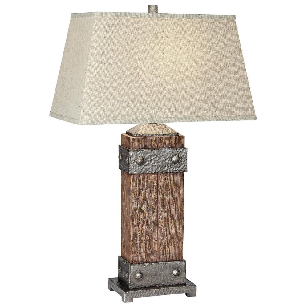 Pacific Coast Lighting Rockledge Table Lamp in Dark Fruitwood, , large