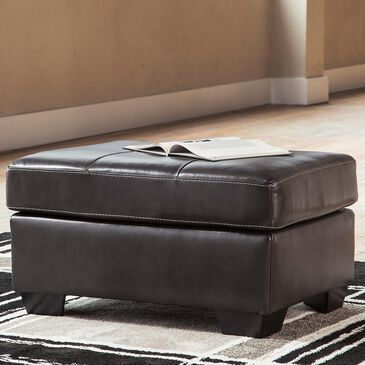 Signature Design by Ashley Morelos Ottoman in Gray, , large