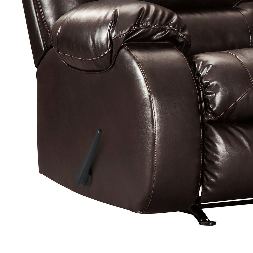 Signature Design by Ashley Vacherie Rocker Recliner in Chocolate, , large