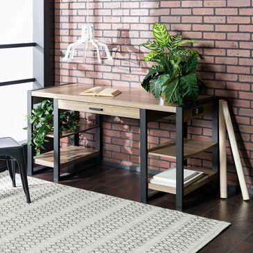 """Walker Edison Urban Blend 60"""" Storage Desk, , large"""