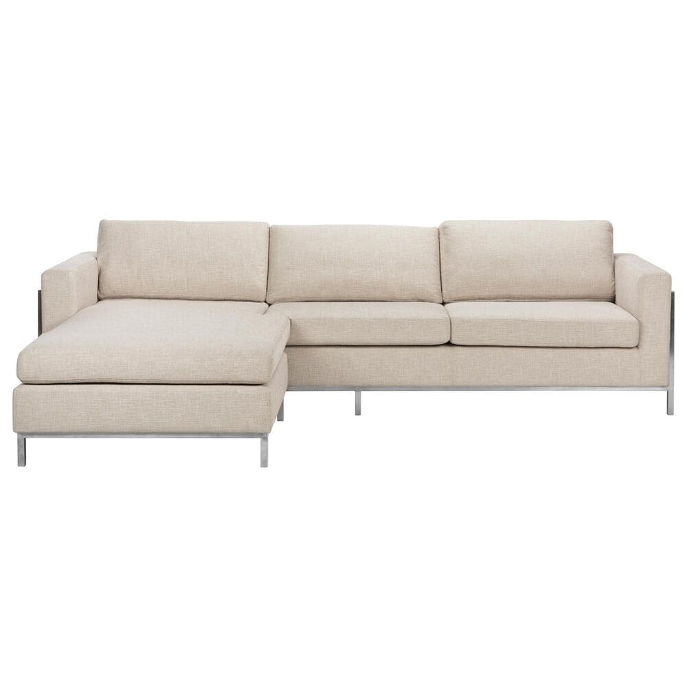 Safavieh Camila Sectional Sofa in Off White, , large