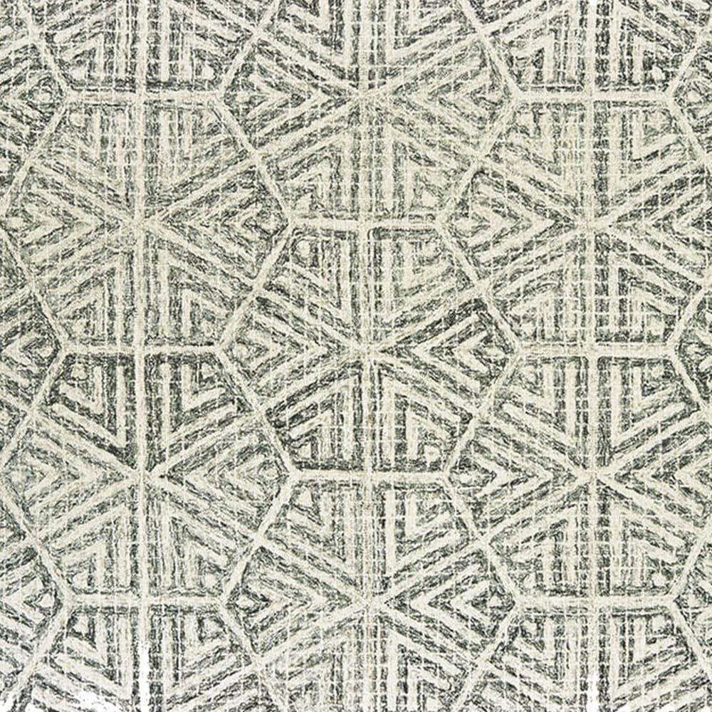 """Oriental Weavers Tallavera 55605 2'6"""" x 8' Grey and Ivory Runner, , large"""