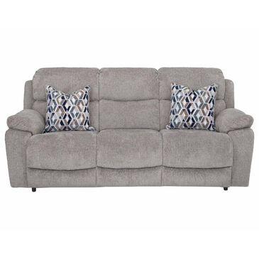 Moore Furniture Dayton Reclining Sofa in Nucleus Fog, , large