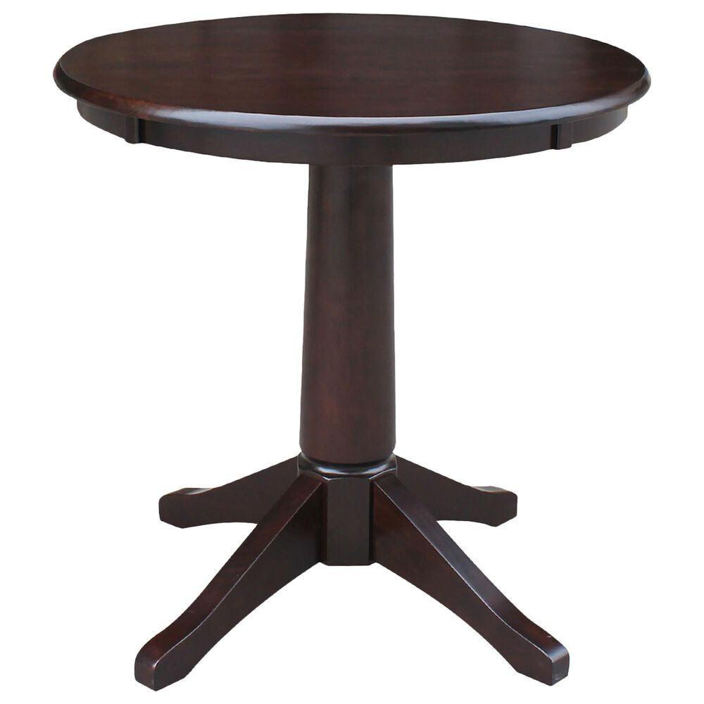 International Concepts San Remo 3-Piece Dining Set in Rich Mocha, , large