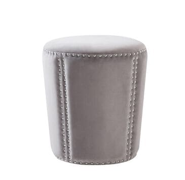Jennifer Taylor Home Landon Accent Ottoman in Opal Grey, , large