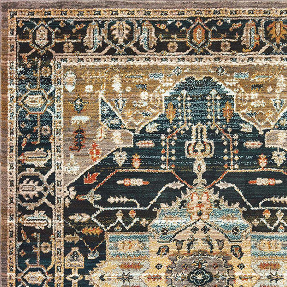"Oriental Weavers Sedona 9592B 1'10"" x 3' Blue Runner, , large"