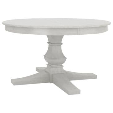 """Declan Dining  54"""" Round Table in White - Table Only, , large"""