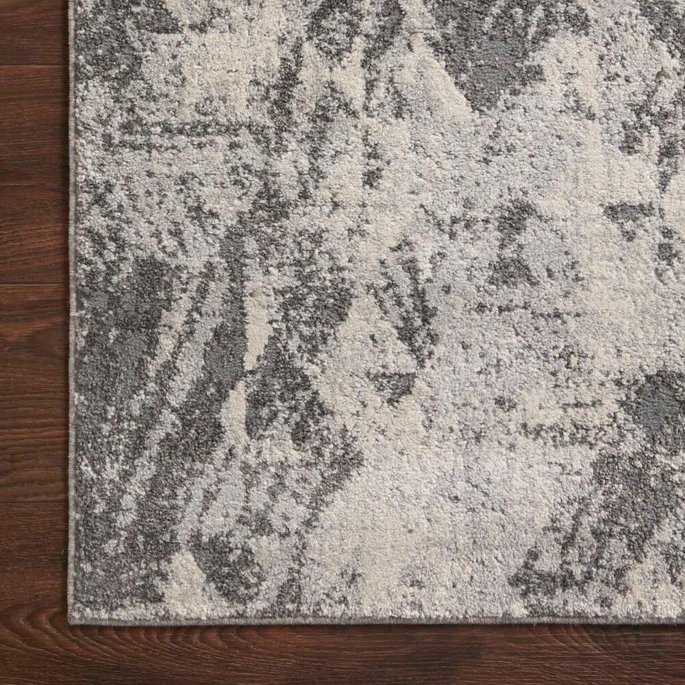 "Loloi II Austen AUS-03 5'3"" x 7'7"" Stone and Pebble Area Rug, , large"