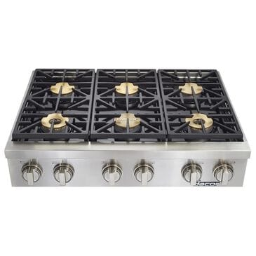 """Dacor Heritage 36"""" Natural Gas Range Top in Stainless, , large"""