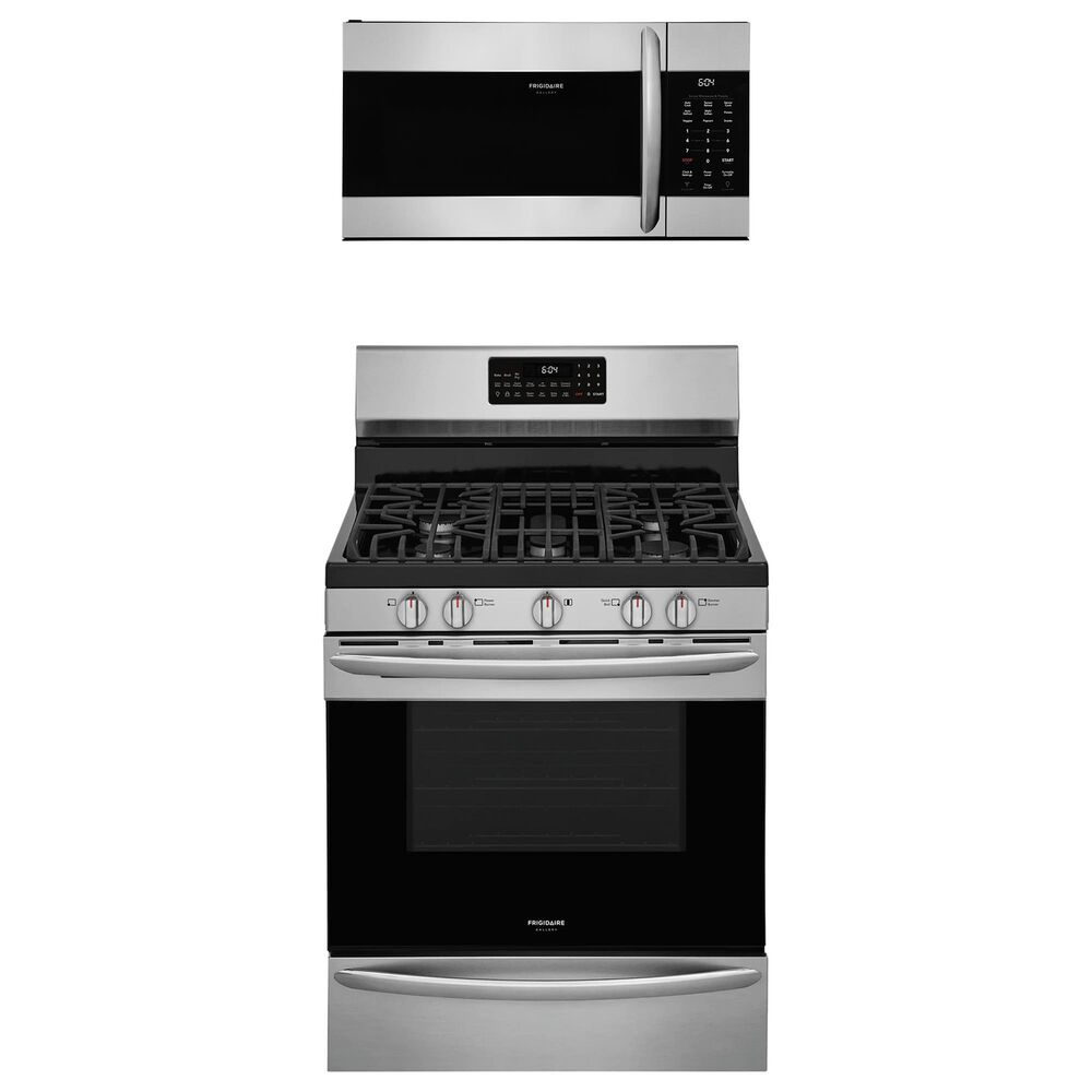 """Frigidaire Gallery 2-Piece Kitchen Package with 30"""""""" Gas Range in Stainless Steel, , large"""