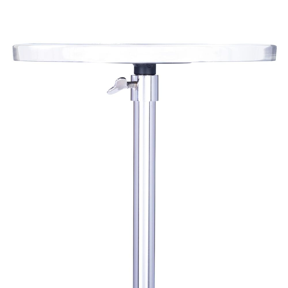 Butler Sash End Table in Silver, , large