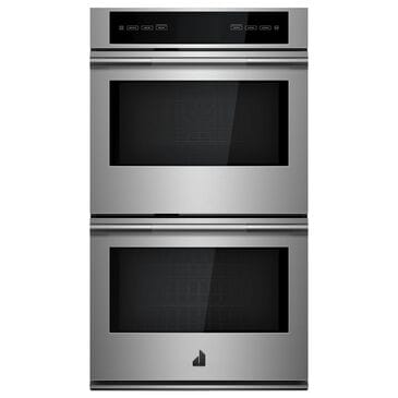 """Jenn-Air Rise 30"""" Double Electric Wall Oven with V2 Vertical Dual-Fan in Stainless Steel, , large"""