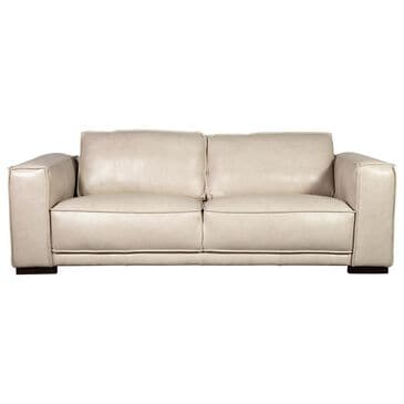 Sienna Designs Leather Sofa in Cesena Panna White, , large