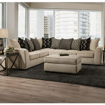Southaven 2-Piece Sectional with Pillow Back in Fawn, , large