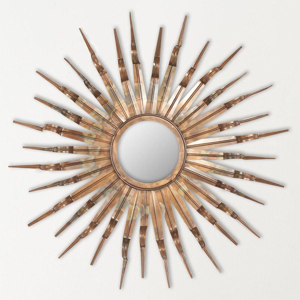 Safavieh Sun Mirror in Copper, , large