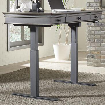 "Riva Ridge Oxford 60"" Adjustable Desk in Peppercorn, , large"