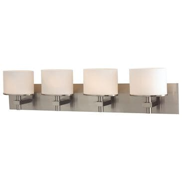Stein World Ombra 4-Light Vanity In Satin Nickel And White Opal Glass, , large
