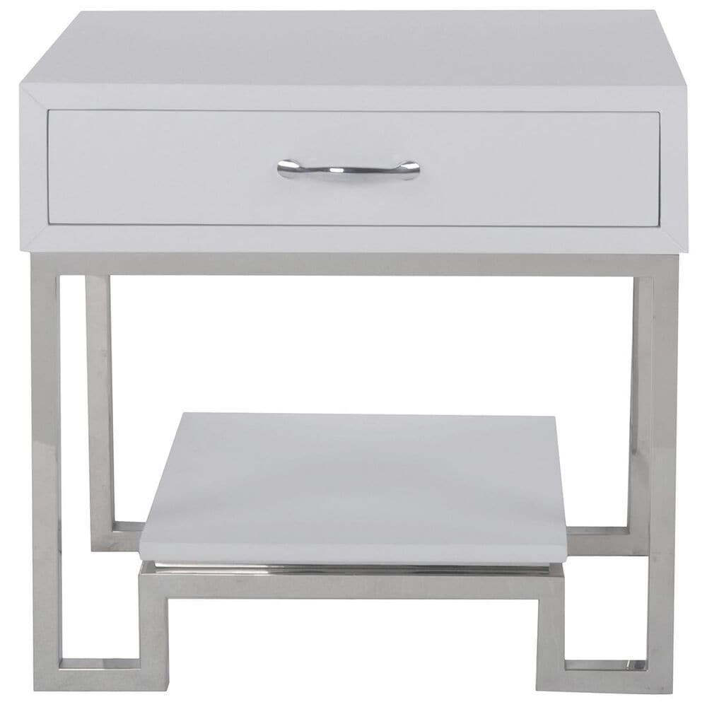 Accentric Approach Accentric Accents Benton Chairside Chest in White, , large