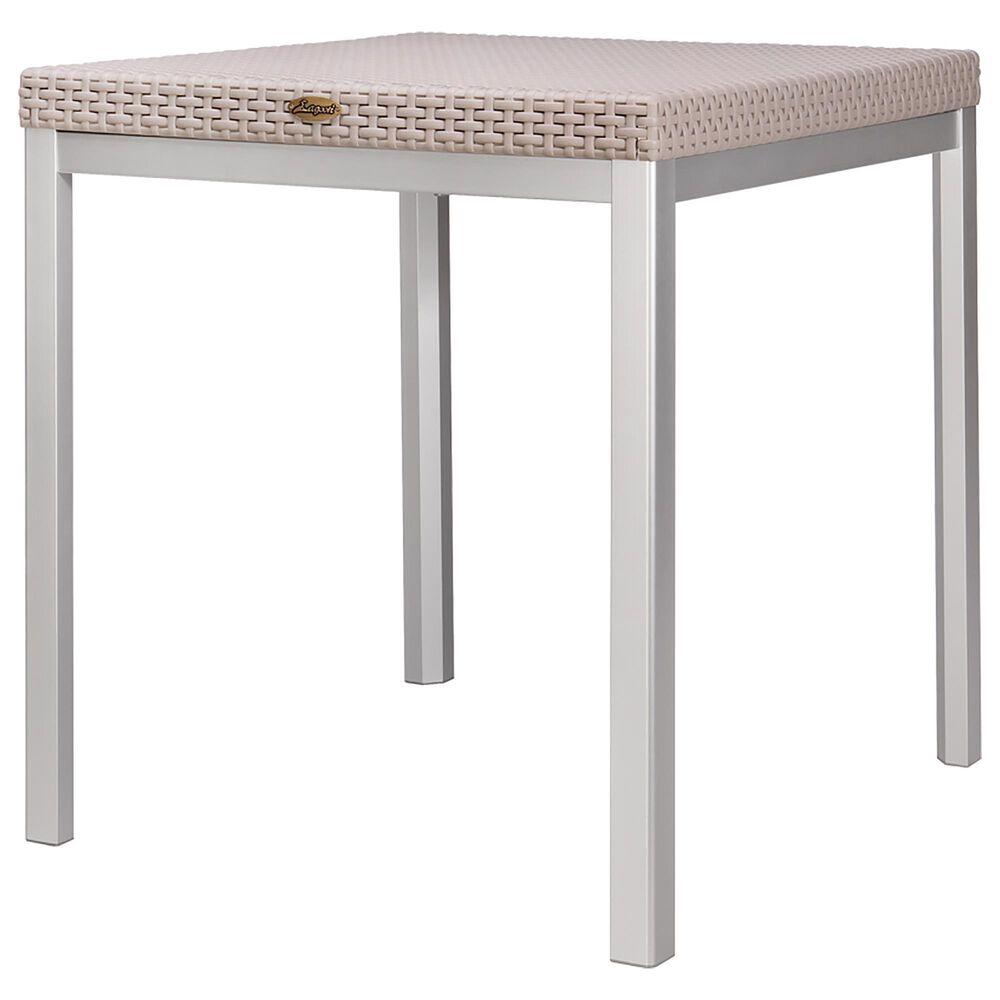 Lagoon Furniture Russ Rattan Dining Table in Grey, , large
