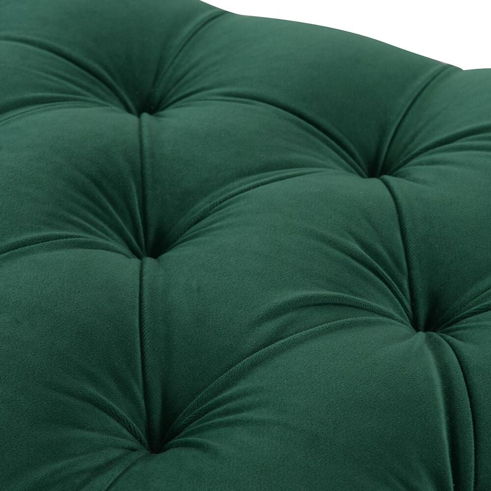 Jennifer Taylor Home Renee Tufted Storage Bench in Evergreen, , large