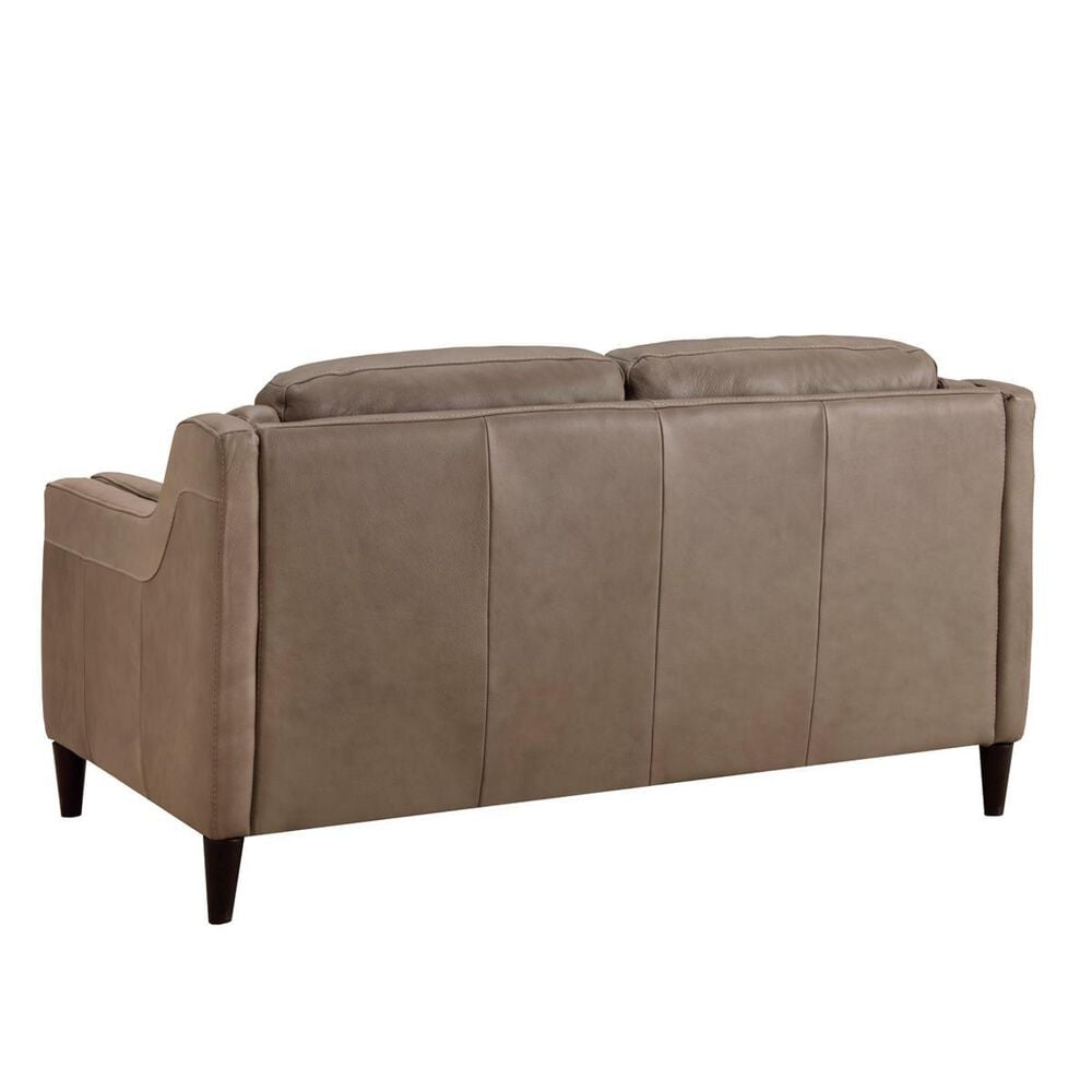 Chateau D'ax Loveseat in Taupe Leather, , large