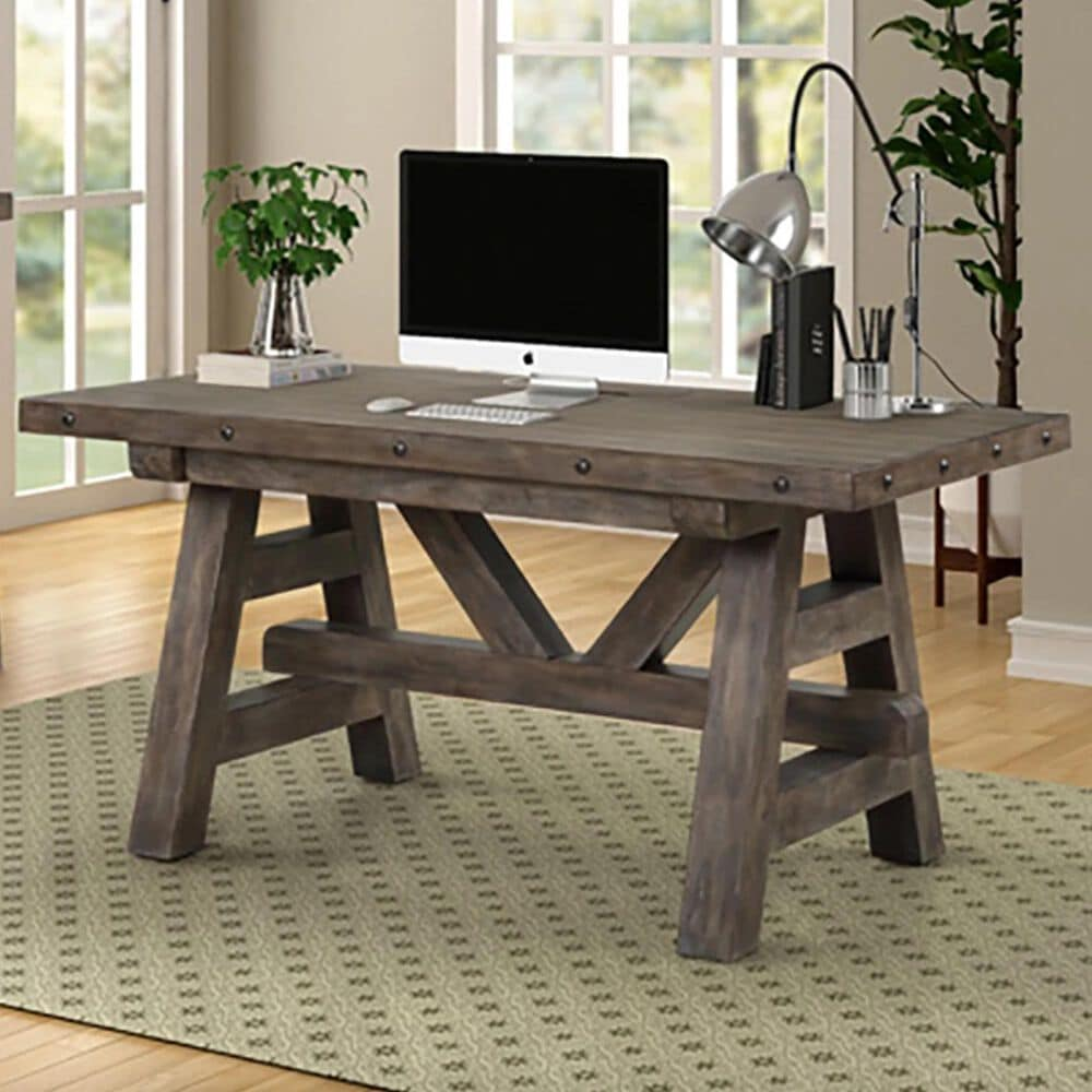 Simeon Collection Lodge Writing Desk in Siltstone, , large