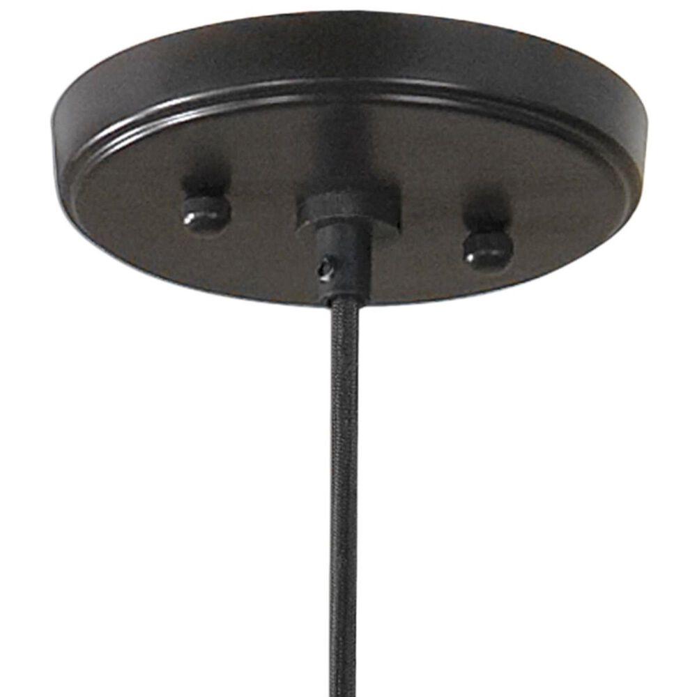 Uttermost Campester 1 Light Mini Pendant in Black, , large