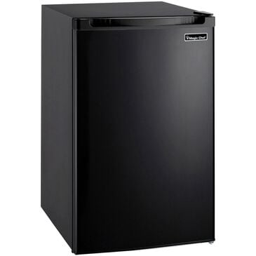 Magic Chef 4.4 Cu. Ft. Refrigerator with Full-Width Freezer Compartment in Black, , large