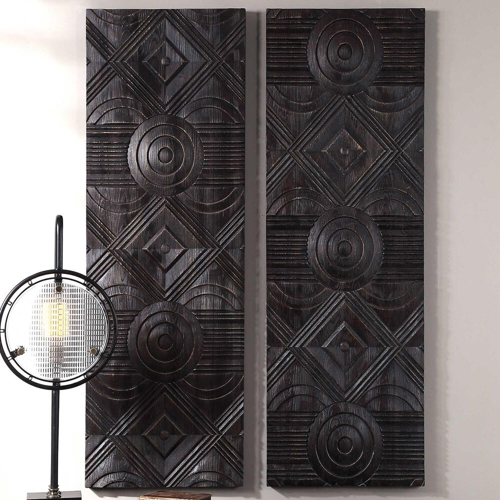 Uttermost Asuka Wall Panel (Set of 2), , large
