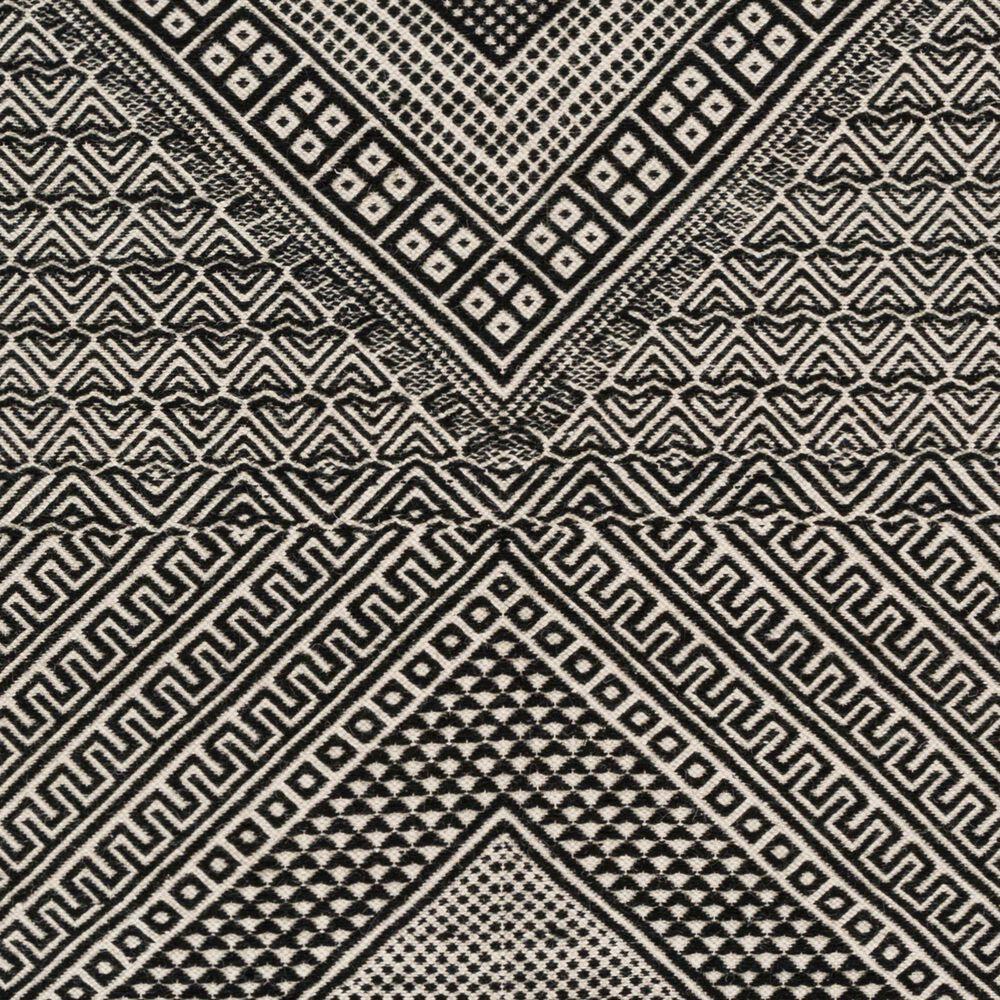 Surya Zanafi ZNF-2303 6' x 9' Black and Ivory Area Rug, , large