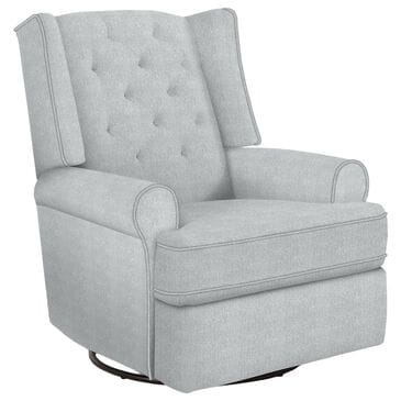 Best Home Furnishings Kendra Swivel Glider Recliner in Dove, , large