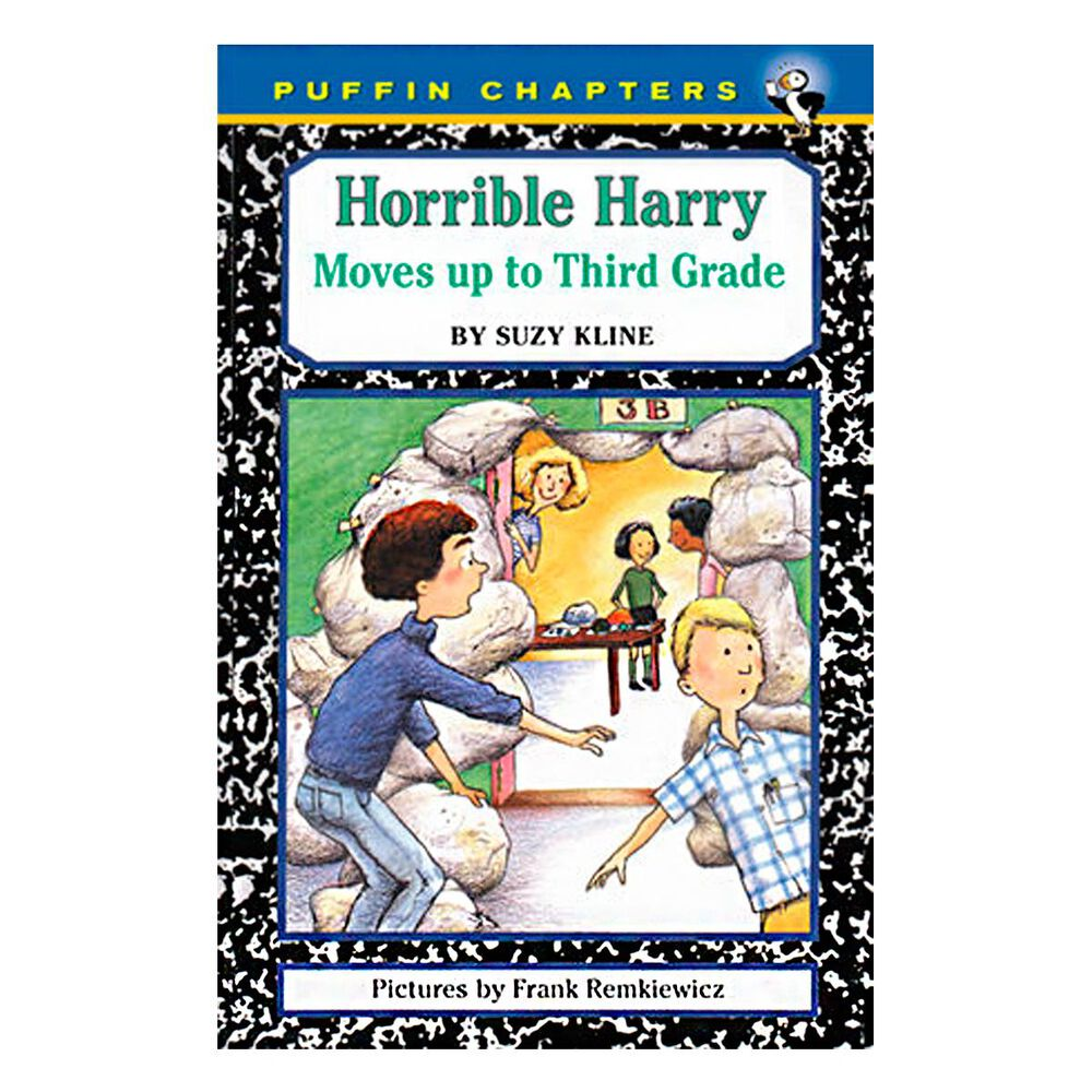 Horrible Harry Moves up to the Third Grade, , large