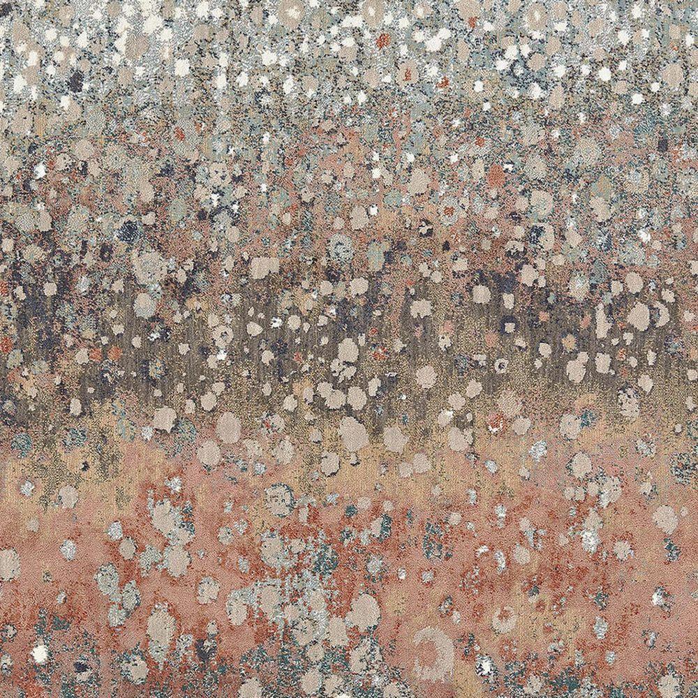 "Karastan Soiree Torrent 91964-97031 9'6"" x 12'11"" Rose Gold Area Rug, , large"