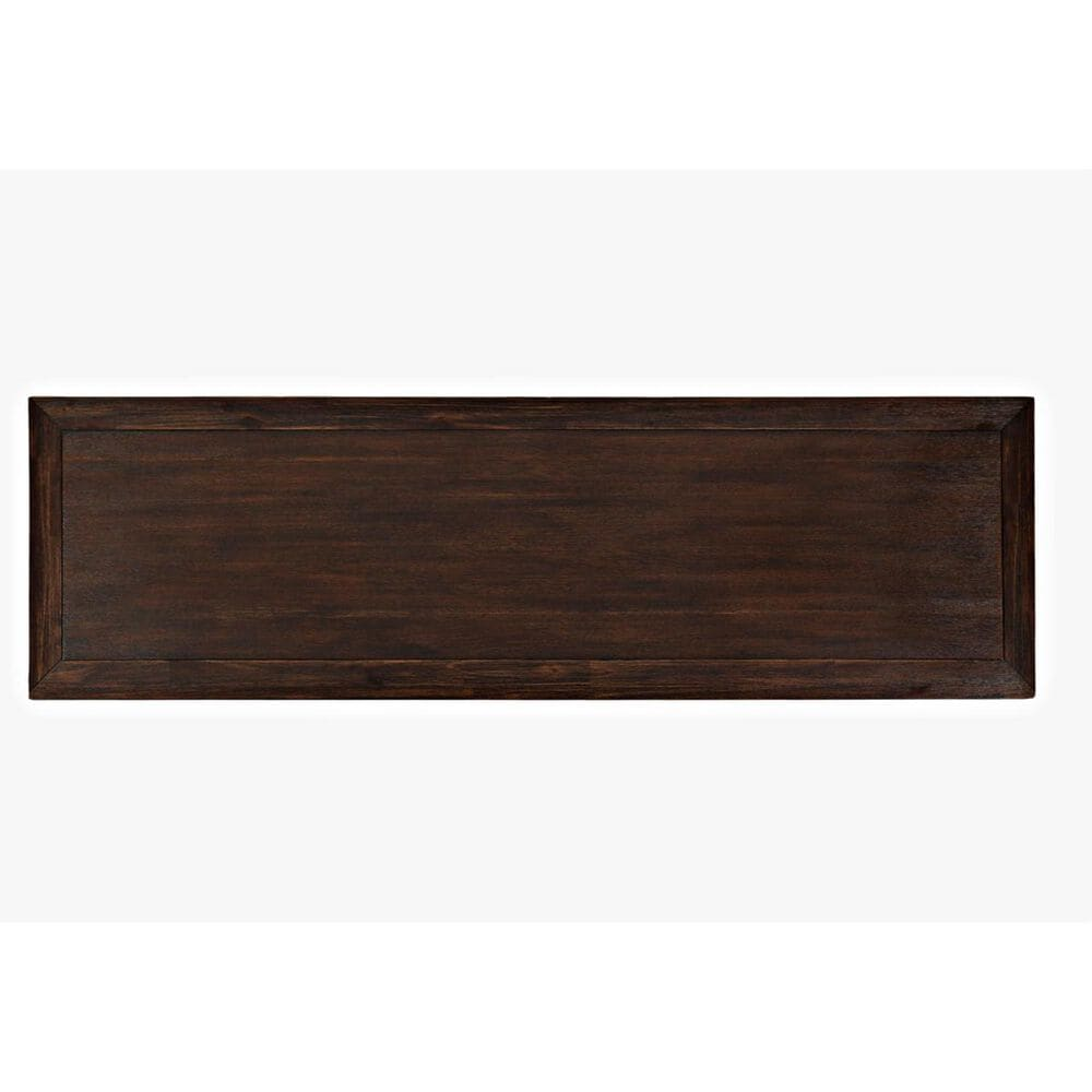 Waltham Gramercy Dark Chevron 3-Door Accent Cabinet, , large