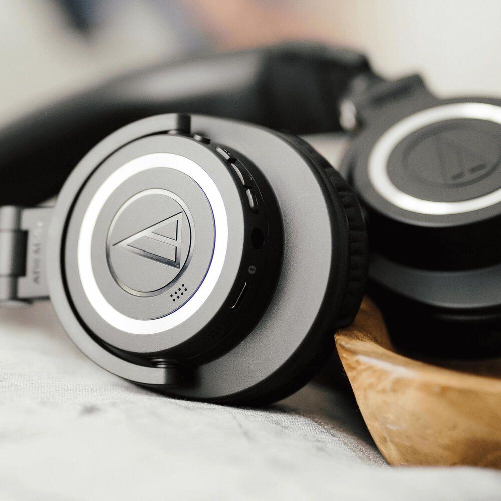 Audio-Technica Wireless Over Ear Bluetooth Headphone in Black, , large