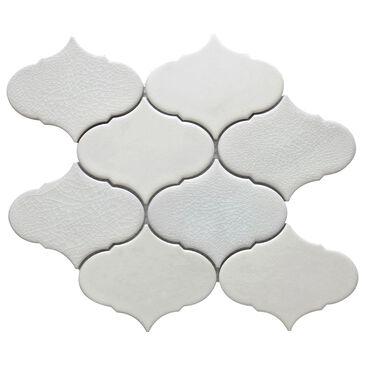 "Emser Retro II Pearl Cloud 9"" x 10"" Porcelain Mosaic Sheet, , large"