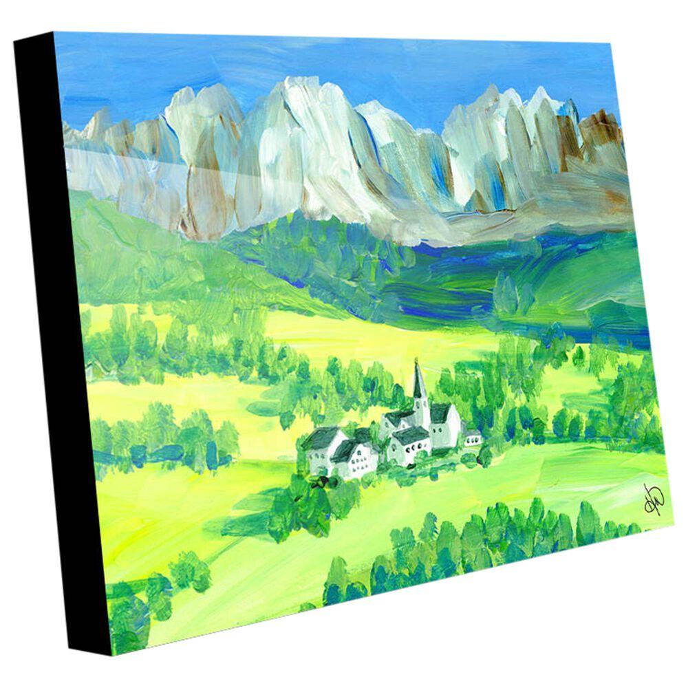 "Kathy Ireland Home ""Swiss Alps"" 20"" x 24"" Acrylic Wall Art Print, , large"