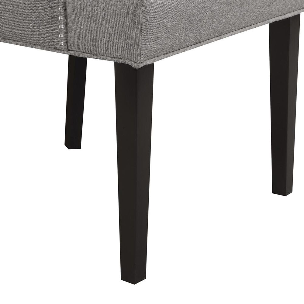 Accentric Approach Accentric Accents Benton Tufted Dining Chair in Grey, , large