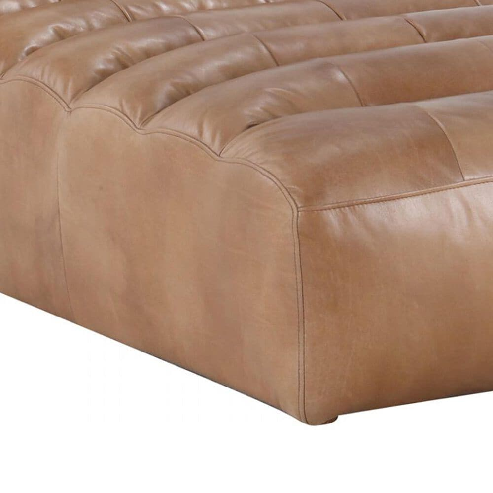 Moe's Home Collection Ramsay Chaise in Tan, , large