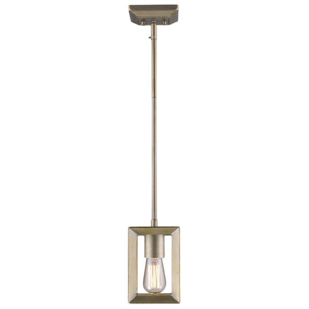 Golden Lighting Smyth Mini Pendant in White Gold, , large