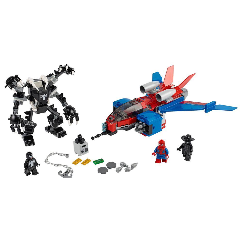 LEGO Super Heroes Spider-Jet vs. Venom Mech, , large