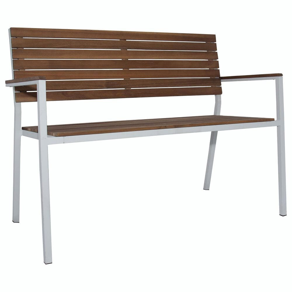 Carolina Chair and Table Braylee Garden Bench in Oil, , large
