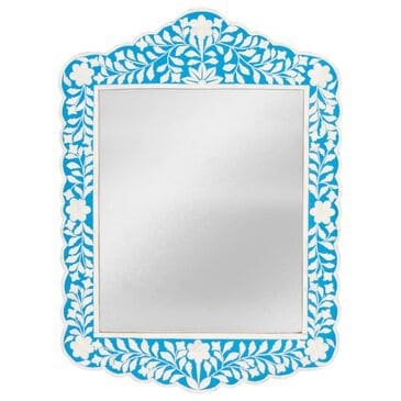 Butler Vivienne Wall Mirror in Blue, , large