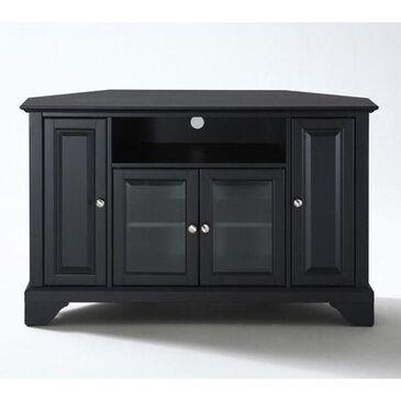 "Crosley Furniture LaFayette 48"" Corner Console in Black, , large"