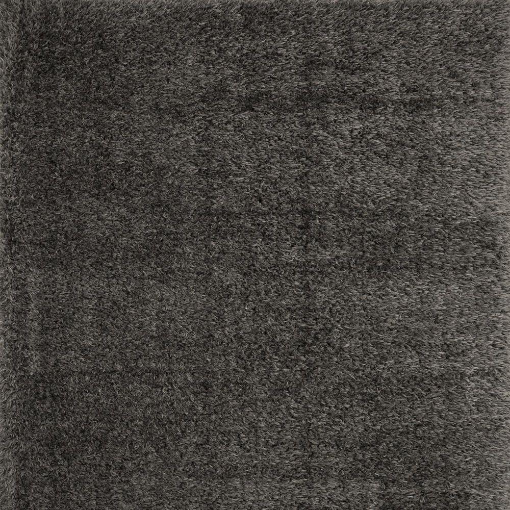 """Loloi Kayla Shag KAY-01 2'2"""" x 4' Grey Door Mat, , large"""