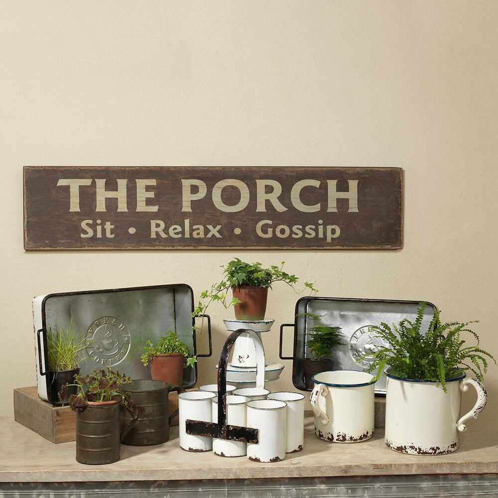 """The Gerson Company 47.6"""" Porch Wall Plaque, , large"""