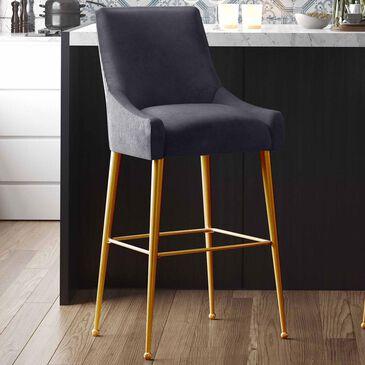 Tov Furniture Beatrix Barstool in Grey, , large