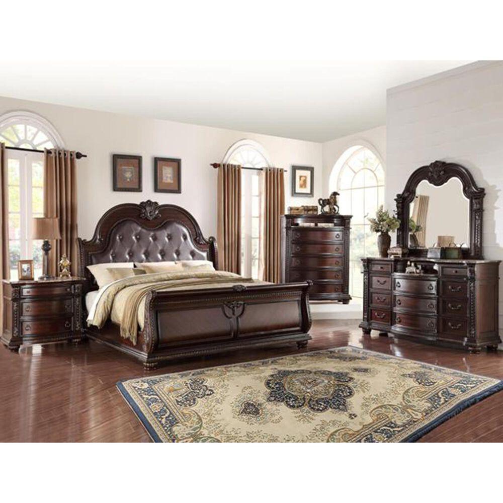 Claremont Stanley 4 Piece Queen Bedroom Set in Espresso, , large